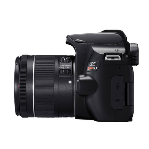 Canon EOS Rebel SL3 18-55IS F4 STM (Black) (Open Box)