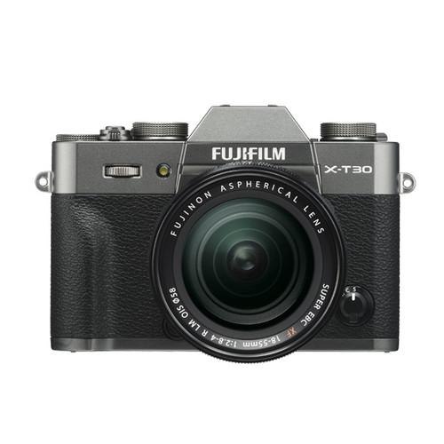 Fujifilm X-T30 XF 18-55mm F2.8-4 LM Kit (Charcoal Silver)
