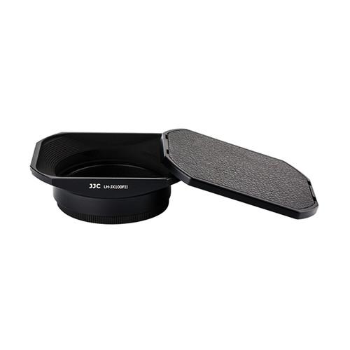 JJC Lens Hood for Fujifilm LH-X100 (Black)
