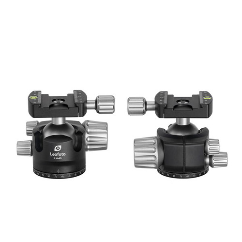 Leofoto LH-40 40mm Low Profile Ball Head with QP-70 Plate