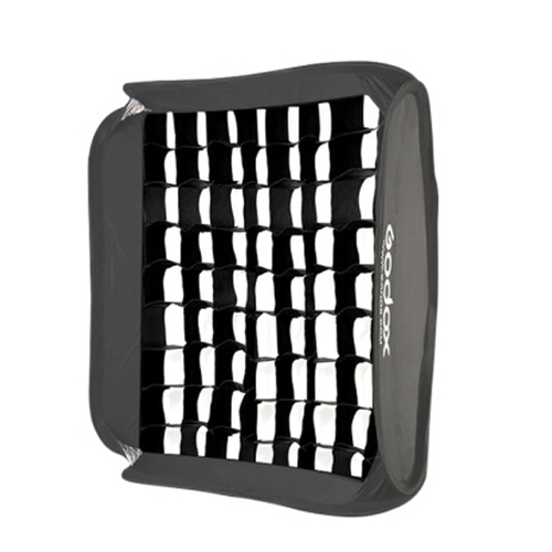 Godox S-Bracket with Softbox & Grid (50 x 50)