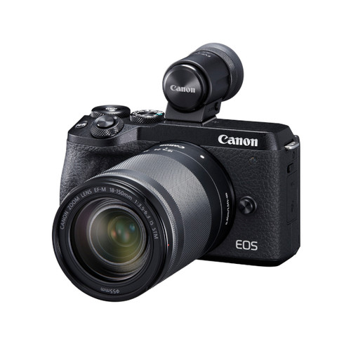 Canon EOS M6 MKII 18-150mm EVF (Black)