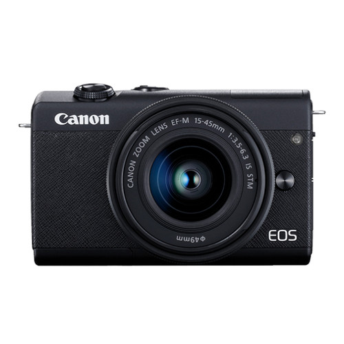 Canon EOS M200 15-45mm Kit (Black)