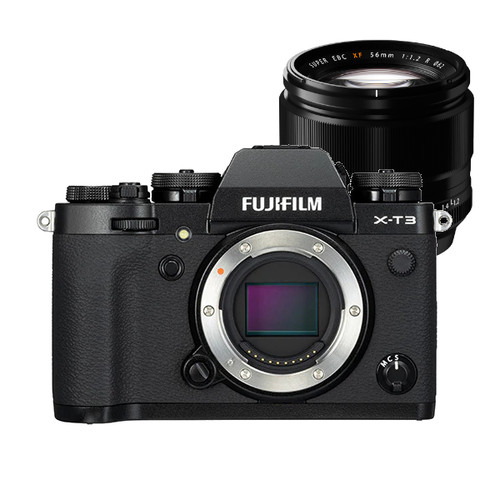 Fujifilm X-T3 Body (Black) w/ XF 56mm f1.2