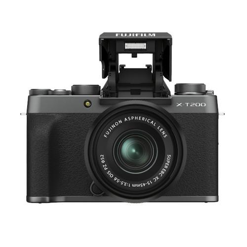 Fujifilm X-T200 XC 15-45mm F3.5-5.6 Kit (Dark Silver)
