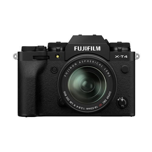 Fujifilm X-T4 XF 18-55mm F2.8-4 Kit (Black)