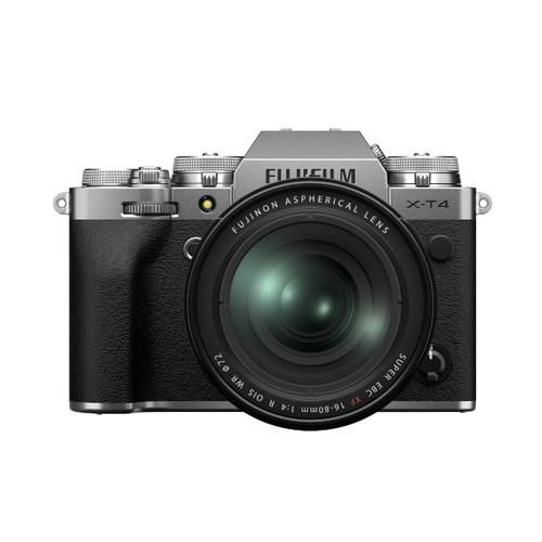 Fujifilm X-T4 XF 16-80mm F4 Kit (Silver)