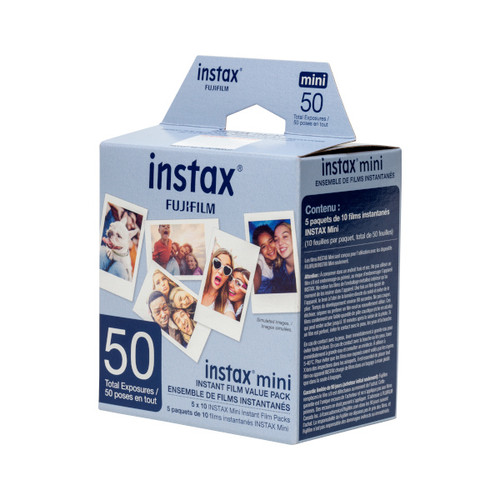 Fujifilm Instax Mini Film 5pk - (50 Exposures)