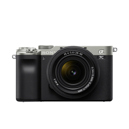 Sony A7C with 28-60mm F4-5.6 kit (Silver)