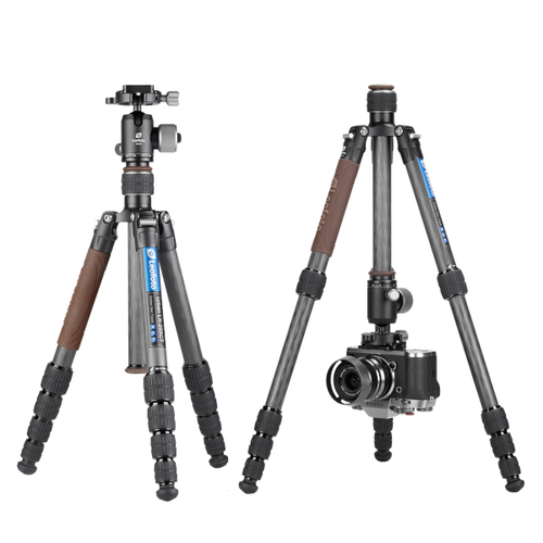 Leofoto LX-255CT Carbon Fiber Tripod with XB-32 Ball Head