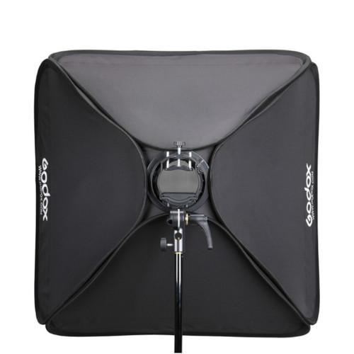 Godox 60cm x 60cm Softbox with Grid and S2 Bracket Bowens Mount