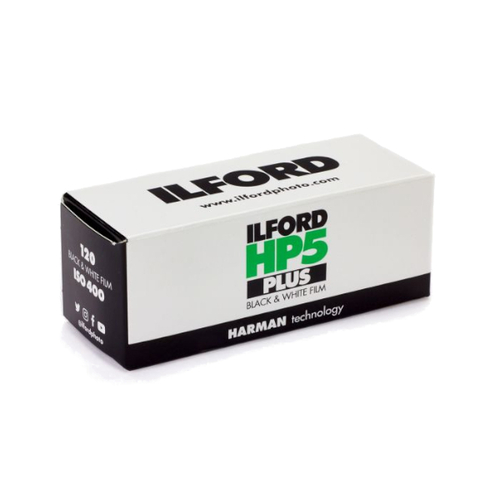 Ilford Photo HP5 Plus B/W Film 120 Roll
