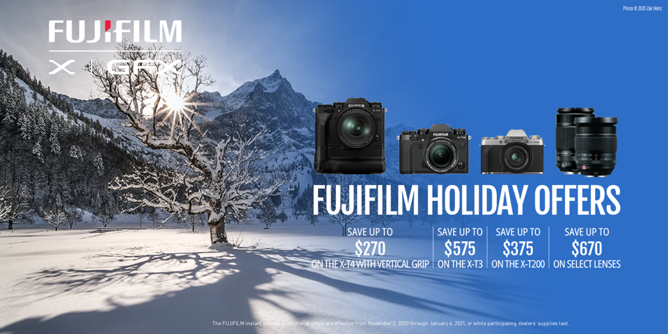 Fujifilm Holiday offers