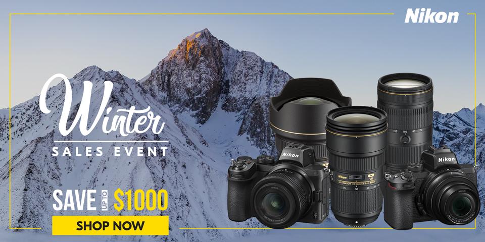 Nikon Winter Sales event