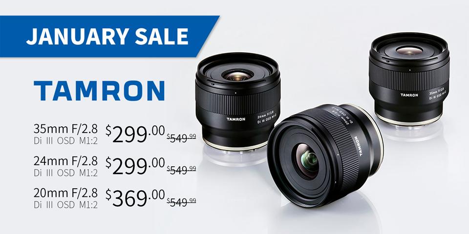 Tamron January Sale