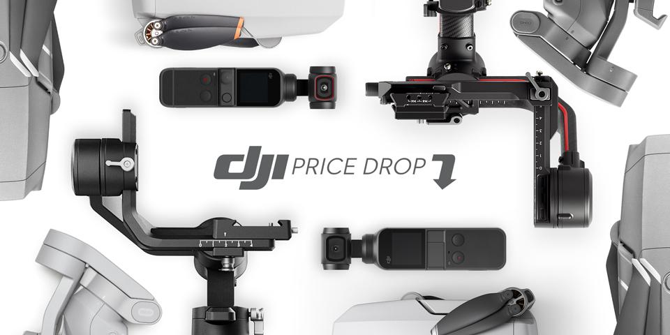 DJI price drop