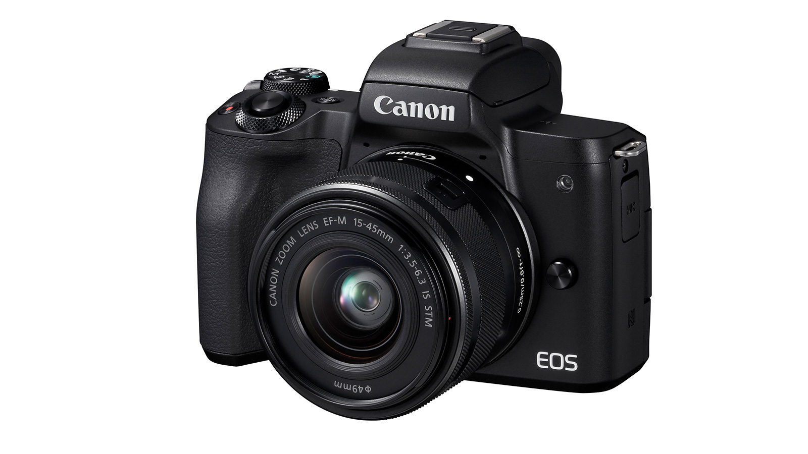 Canon's New M50 Mirrorless with 4K