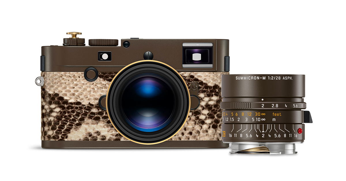 "Leica Announces New Lenny Kravitz Collaboration - M Monochrom ""Drifter"""