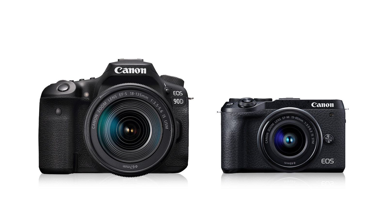 Canon Launches New APS-C Cameras: EOS 90D & EOS M6 Mark II