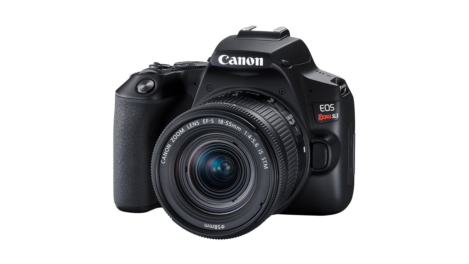 Canon Launches New Compact, Lightweight EOS Rebel SL3