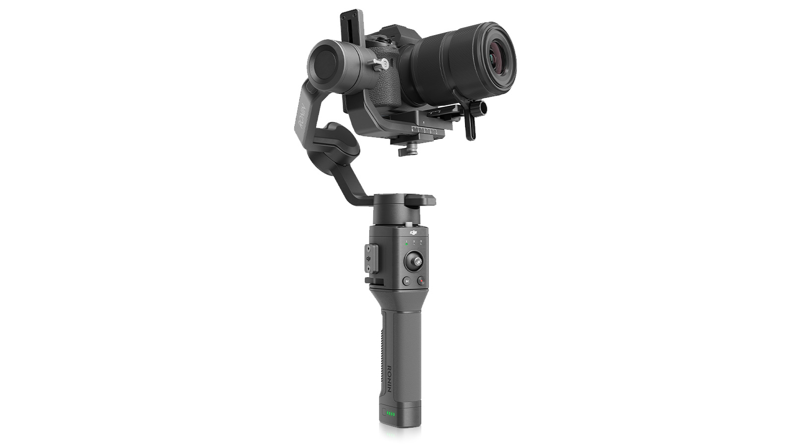 The DJI Ronin-SC Is a Lighter, Compact Mirrorless Camera Gimbal