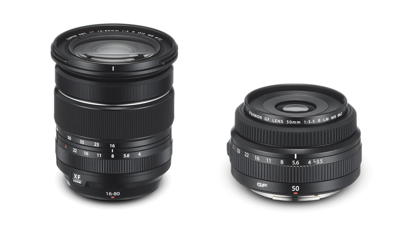 Fujifilm Announces New XF 16-80mm F4 and GF 50mm F3.5 Lenses