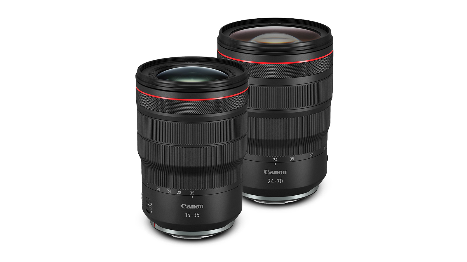 Canon Adds 15-35mm F2.8L, 24-70mm F2.8L to RF Lineup