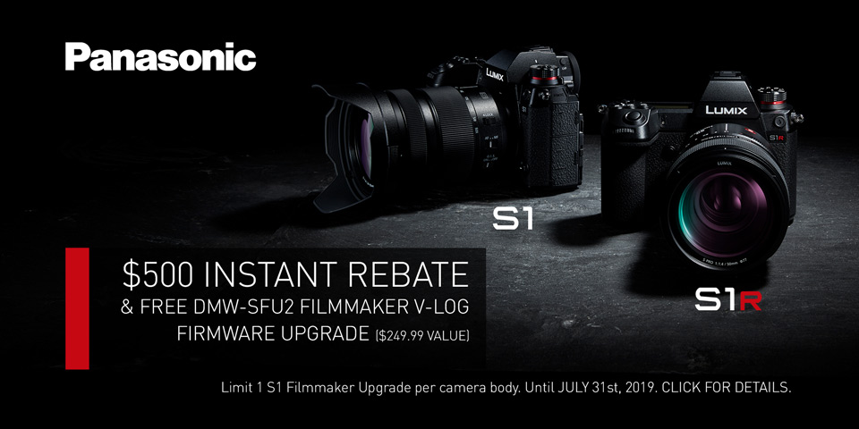 Current Promotions - Panasonic S1 & S1R - Broadway Camera