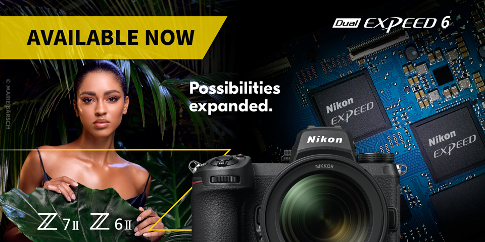 Nikon Z6ii and Z7ii - available now