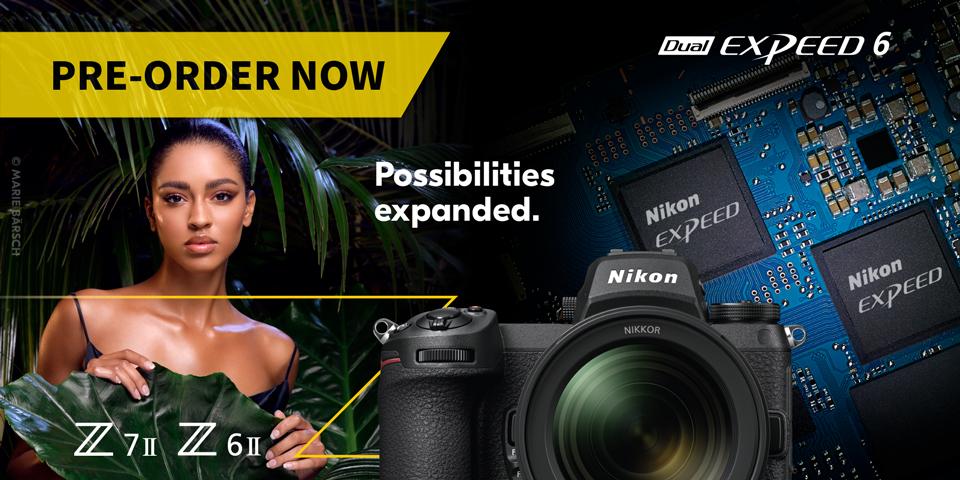 Nikon Z6ii and Z7ii - Preorder now