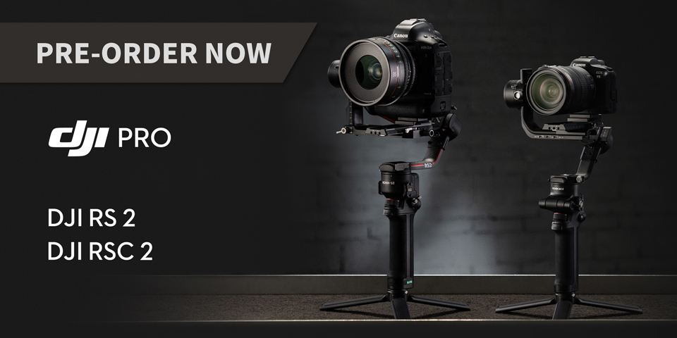 New DJI RS2 RSC2 Preorder now