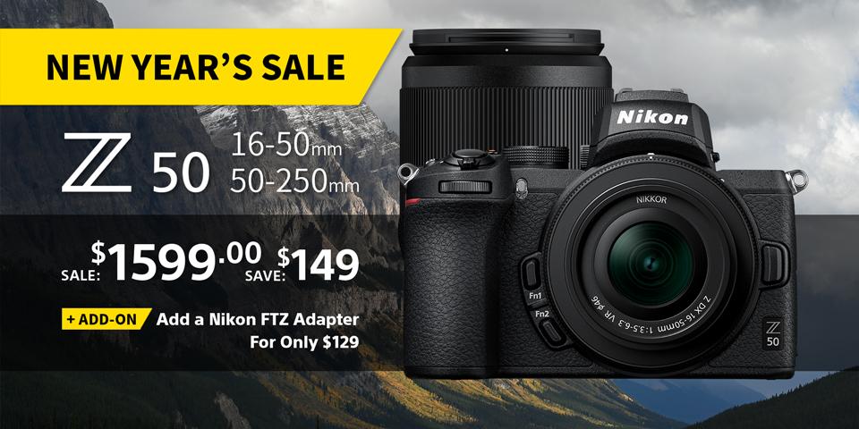 Nikon New Year Sale