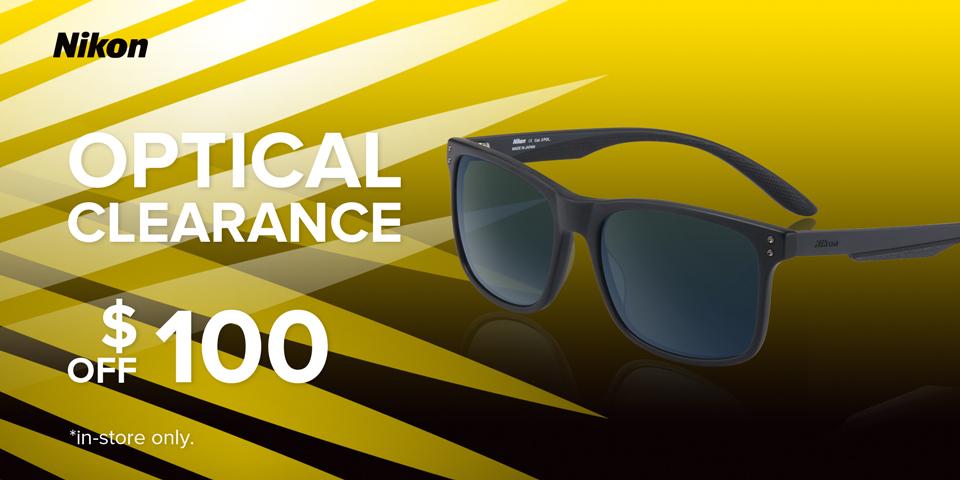 Nikon Optical Clearance