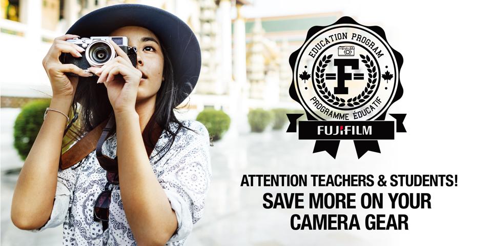 Fujifilm Education Discount