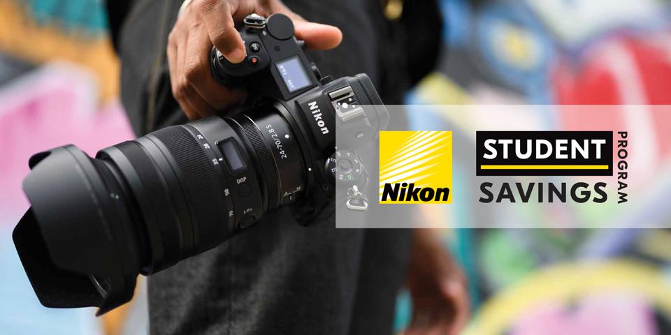 Nikon Student Savings