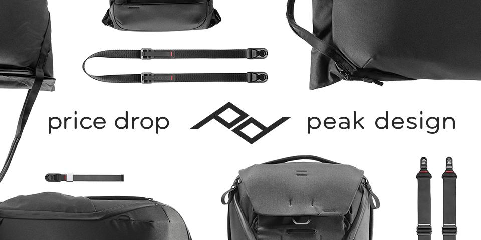 Peak Design Price Drop