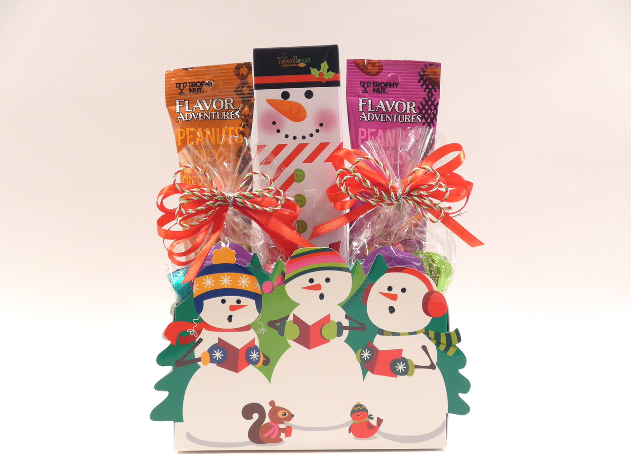 Christmas Gift Baskets For Couples.Let It Snow Christmas Gift Basket