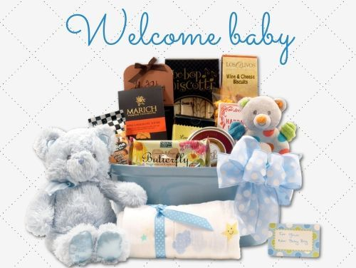 Gourmet Baby Gift Baskets