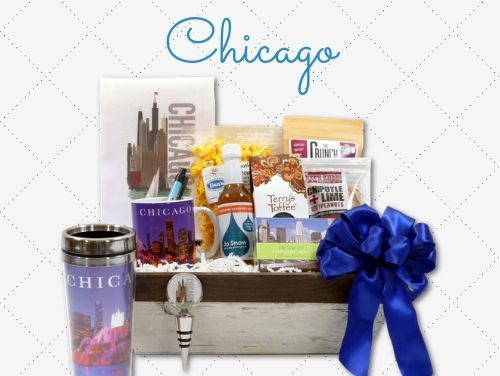 Chicago Themed Gift Baskets