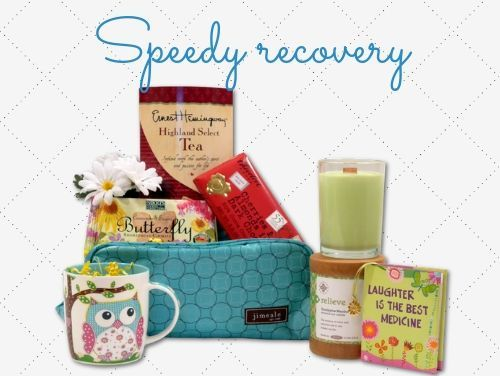 Get Well Soon Gift Baskets