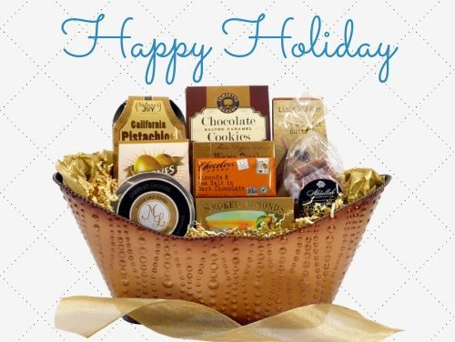 Holiday Gourmet Gift Baskets