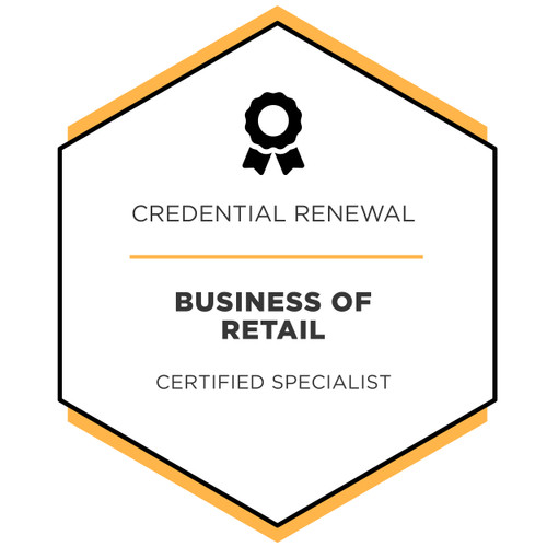 Business of Retail - Credential Renewal