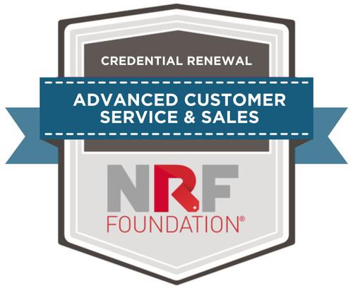 Advanced Customer Service & Sales - Credential Renewal