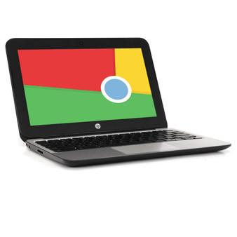 "Scratch-N-Dent HP Chromebook 11 G4 Notebook 11"" Display: 2.16 GHz Intel Celeron, 2GB RAM, 16GB SSD, Chrome OS"