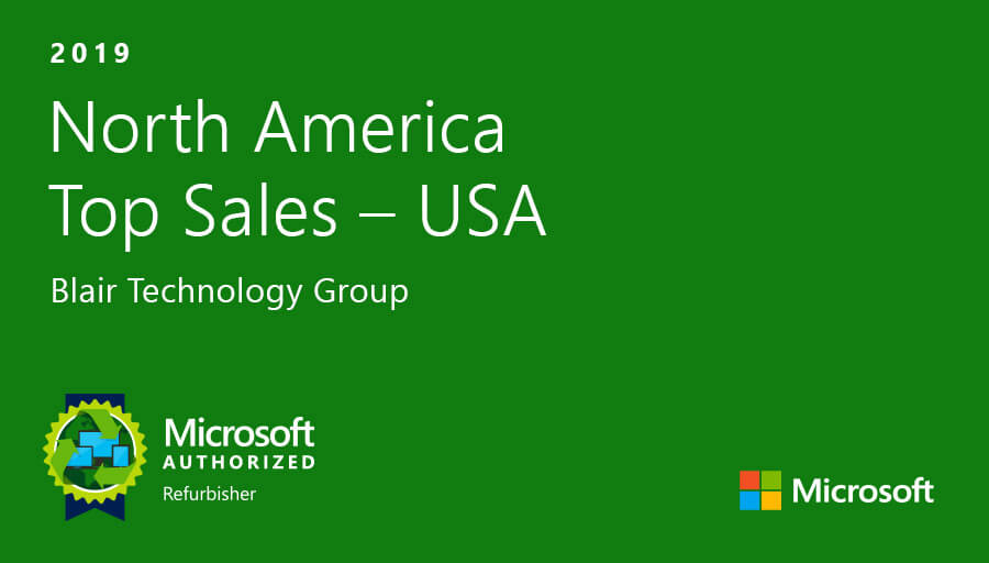 2019 North America Top Sales - USA Microsoft Authorized Refurbisher