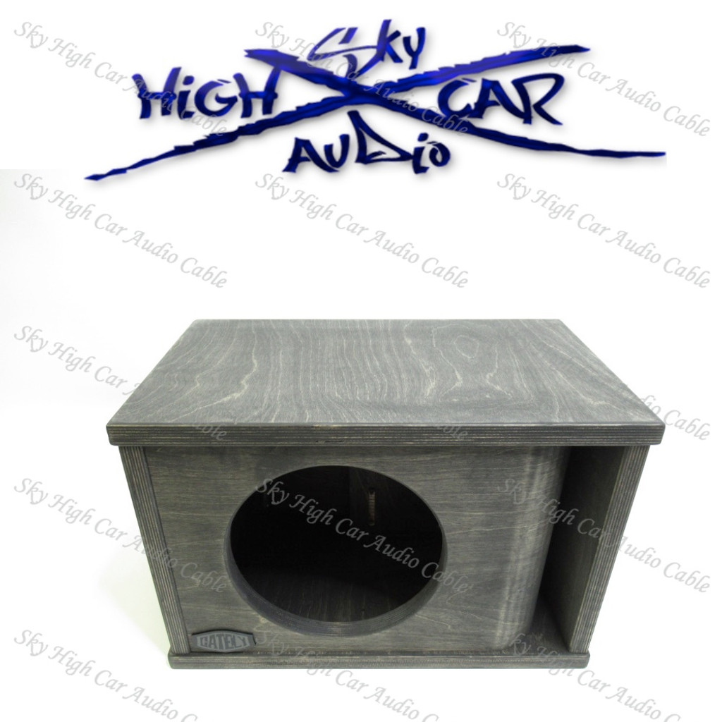 "SINGLE 10"" SUBWOOFER ENCLOSURE 1.5 CF"