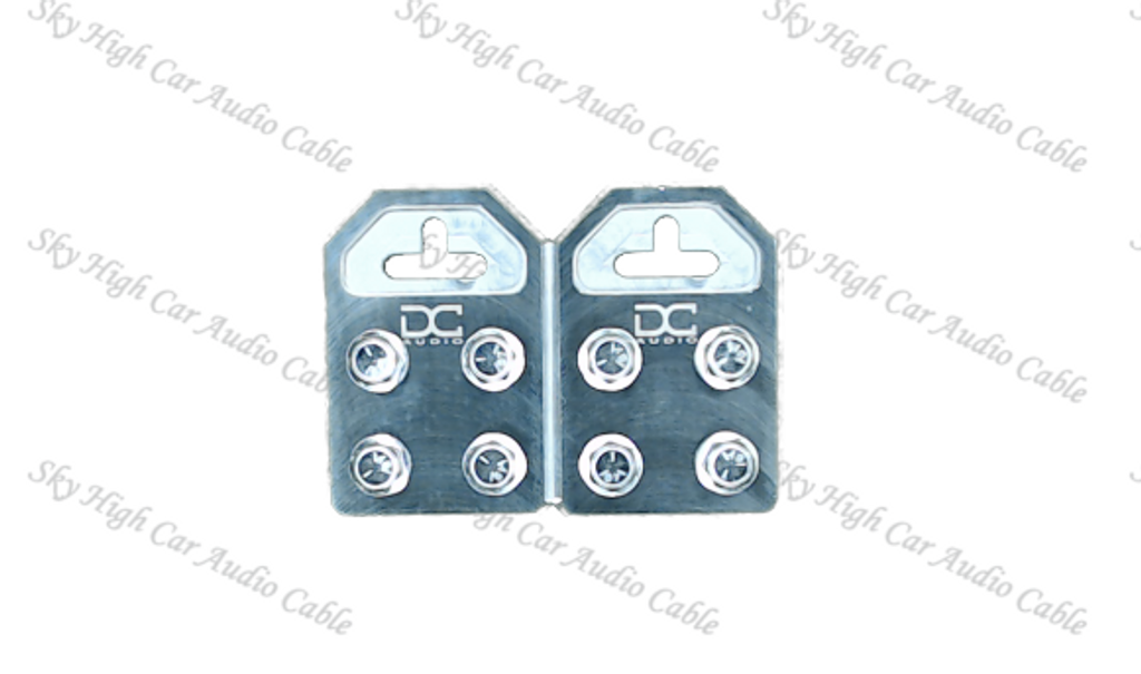 DC Audio Flat 4 Aluminum Battery Terminals