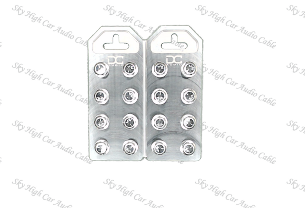 DC Audio Flat 8 Spot Battery Terminals