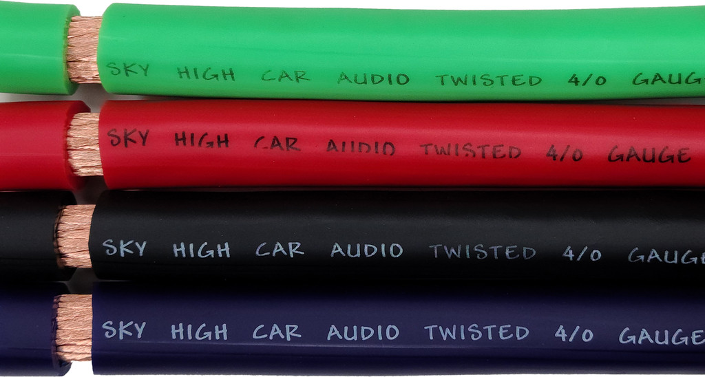 Sky High Car Audio OFC 4/0 XL Gauge - By The Foot