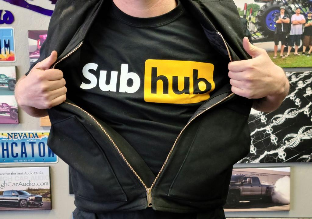 Subhub Sky High Car Audio Shirt